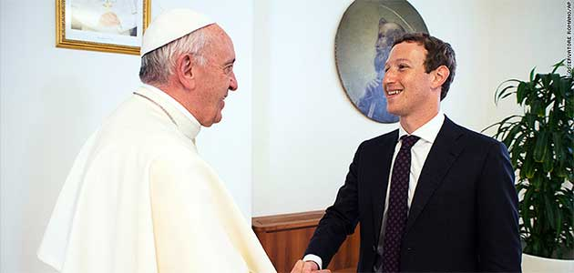 papafranciscoconmarkzuckerberg