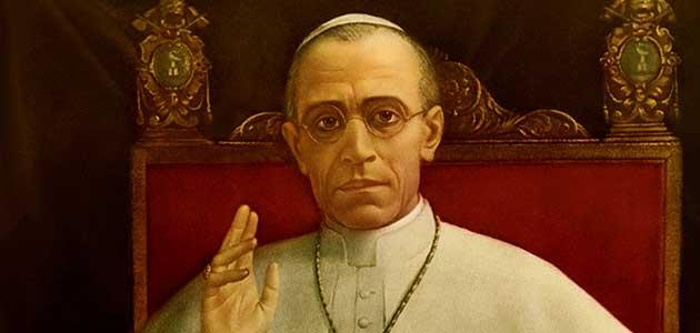 Cuadro del Papa Pío XII