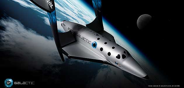 El SpaceShipTwo de Virgin Galactic